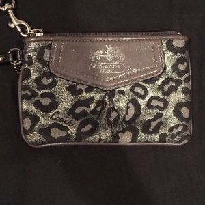 REAL COACH wristlet. *never used, Good as new*
